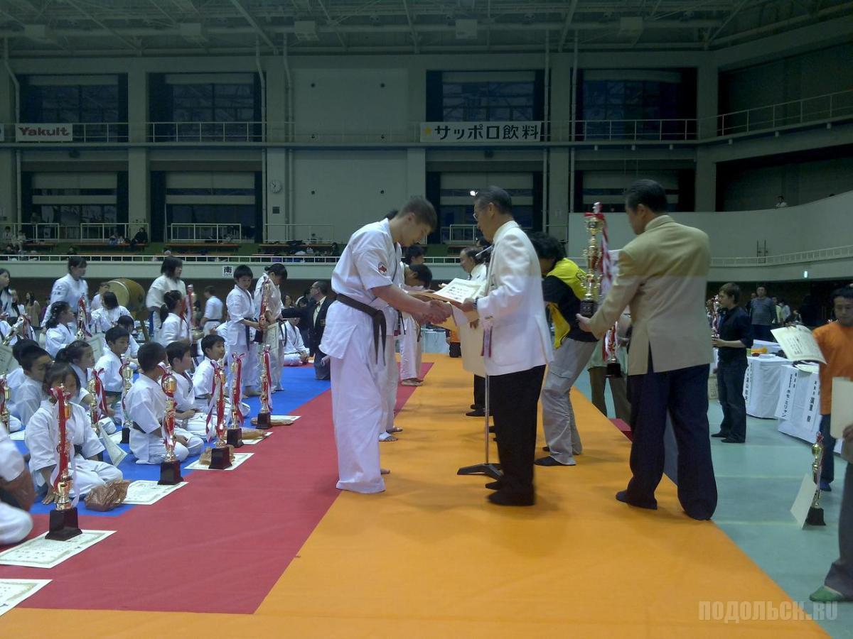 Подольчанин стал чемпионом Японии