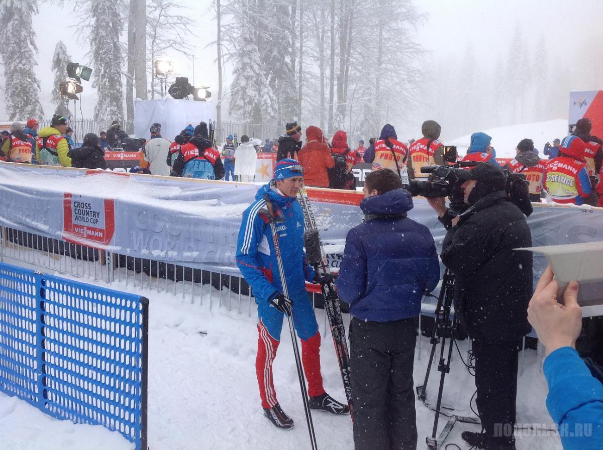 Никита Крюков. Этап кубка мира в Сочи