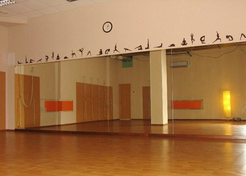 В третьих были оборудованы залы для