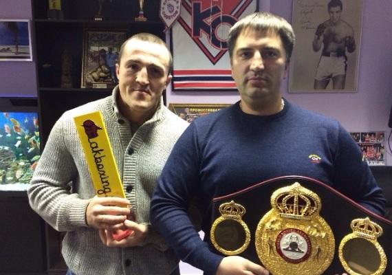 Денис Лебедев и Павел Попов