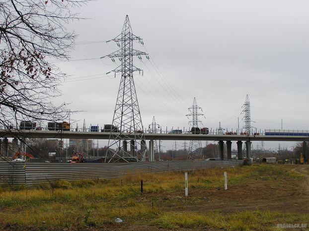 Эстакада в Климовске