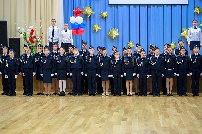 Еще один кадетский класс открылся в подольской школе 32 Карьера, Работа и Образование в Подольске