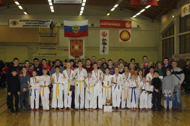 Команда юных мастеров карате из Подольска стала лучшей