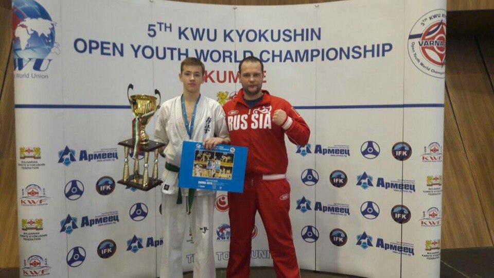 Каратист изПензы завоевал бронзовую медаль напервенстве мира вБолгарии