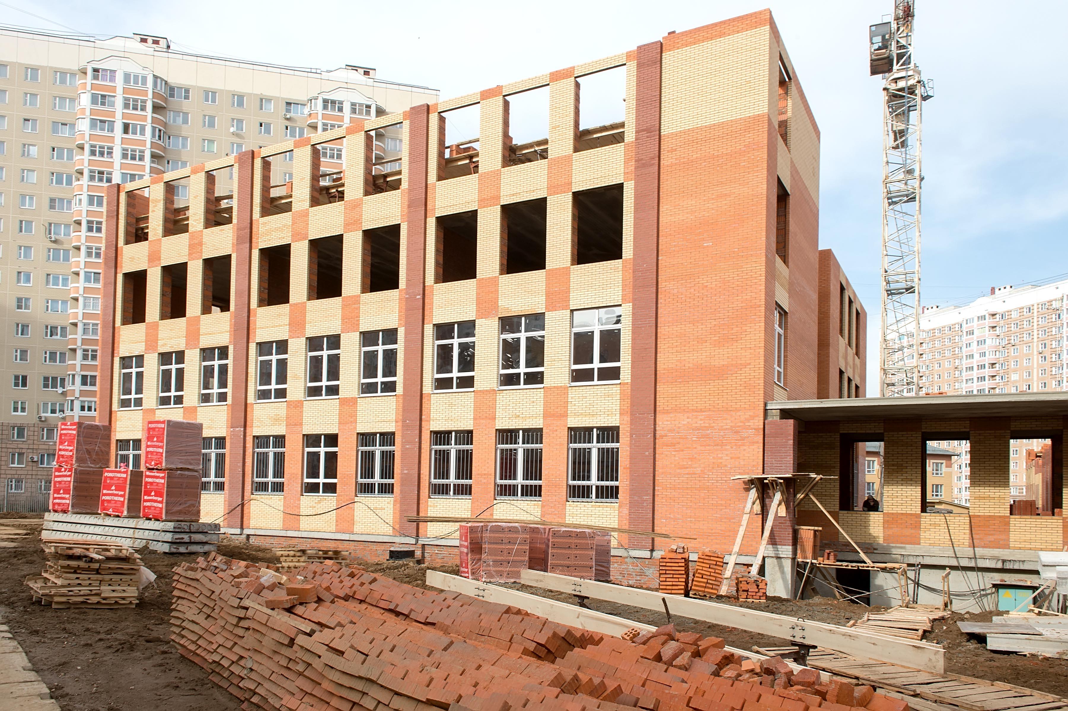 Картинка стройка школы