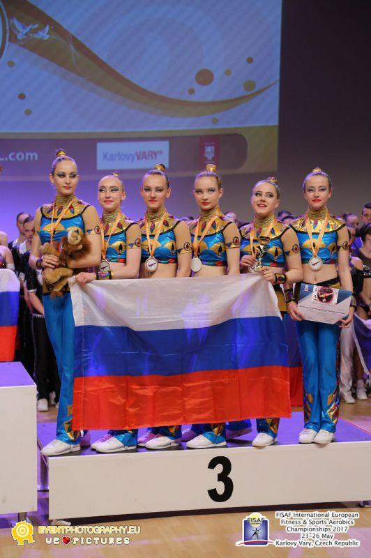 Юные подольчанки завоевали «бронзу» первенства Европы