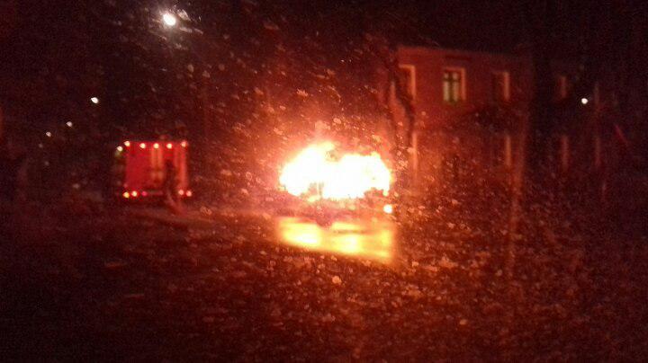 Наскладе лакокрасочных материалов под Подольском начался крупный пожар