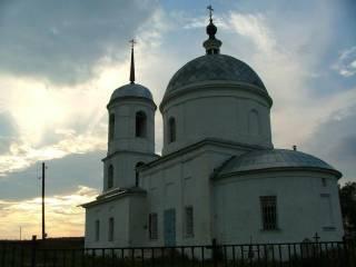 Церковь Вознесения в д. Сатино-Русское