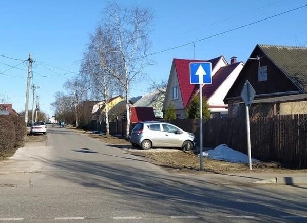 Ввод одностороннего движения на улице Володарского