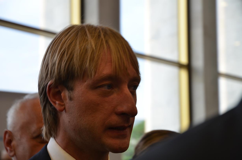 Евгений Плющенко на Олимпийском балу