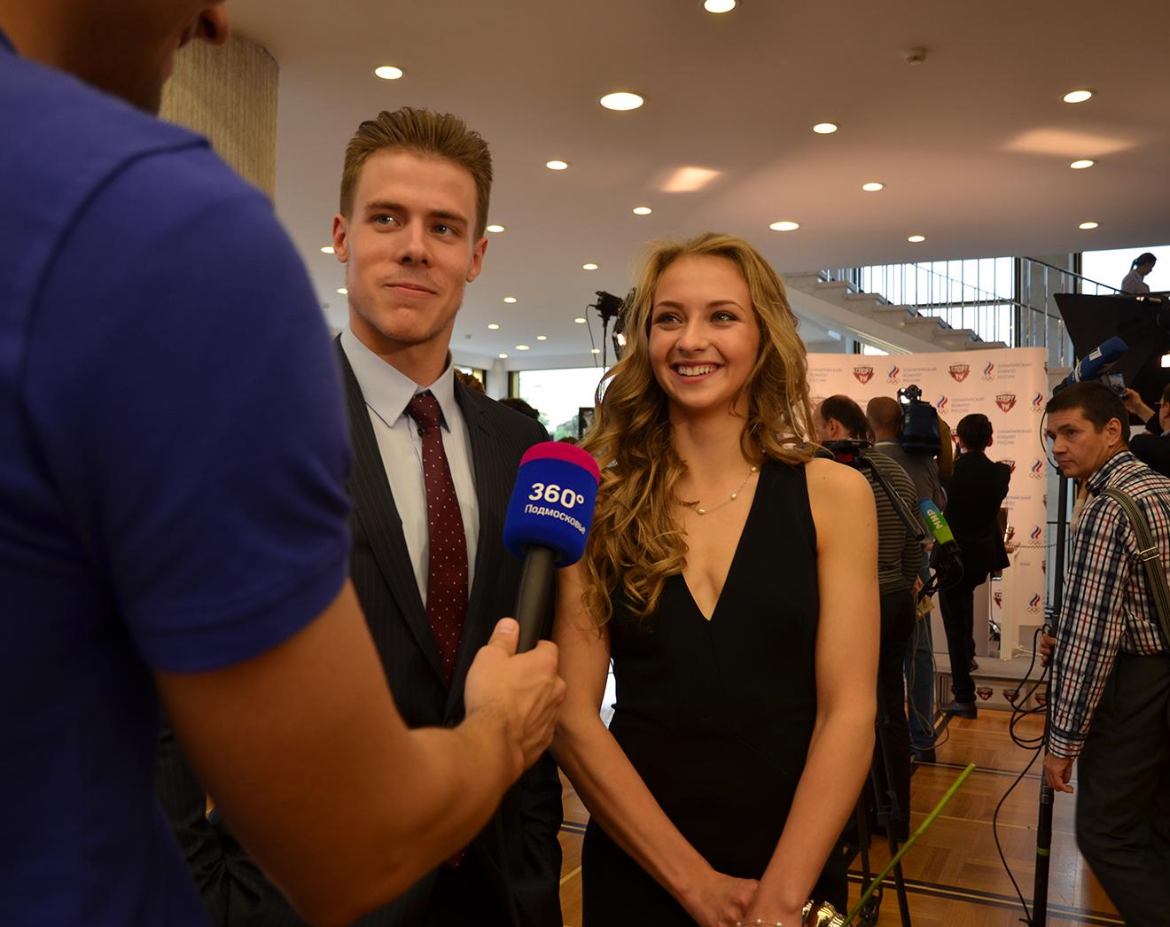 Фигуристы-юниоры Виктория Синицина и Никита Кацалапов