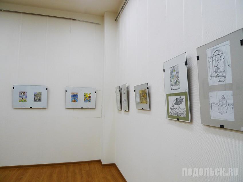 Выставка художницы Ю.Архиповой.