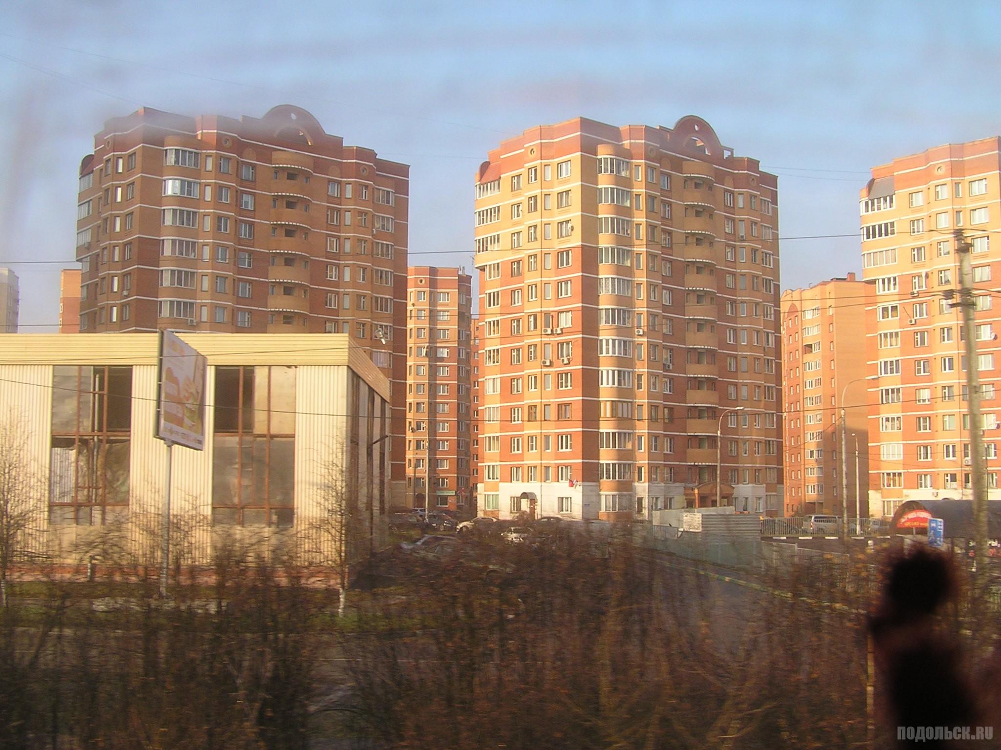 Новостройки у станции Щербинка. 11.2014.