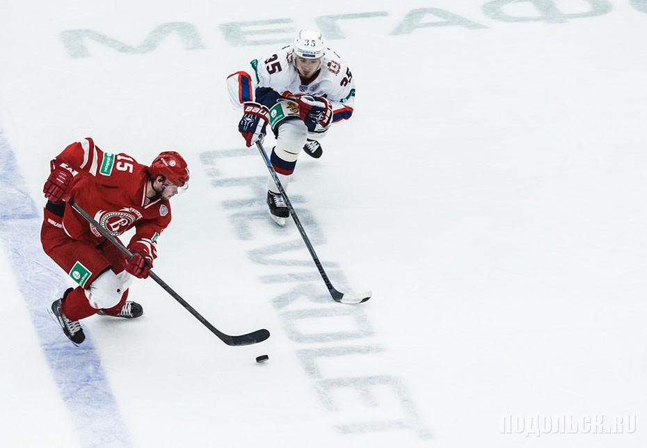 Матч Витязь - Торпедо. 3.12.14.Игровой момент.