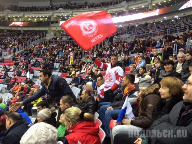 В регулярном матче чемпионата КХЛ 5 января 2015 г.