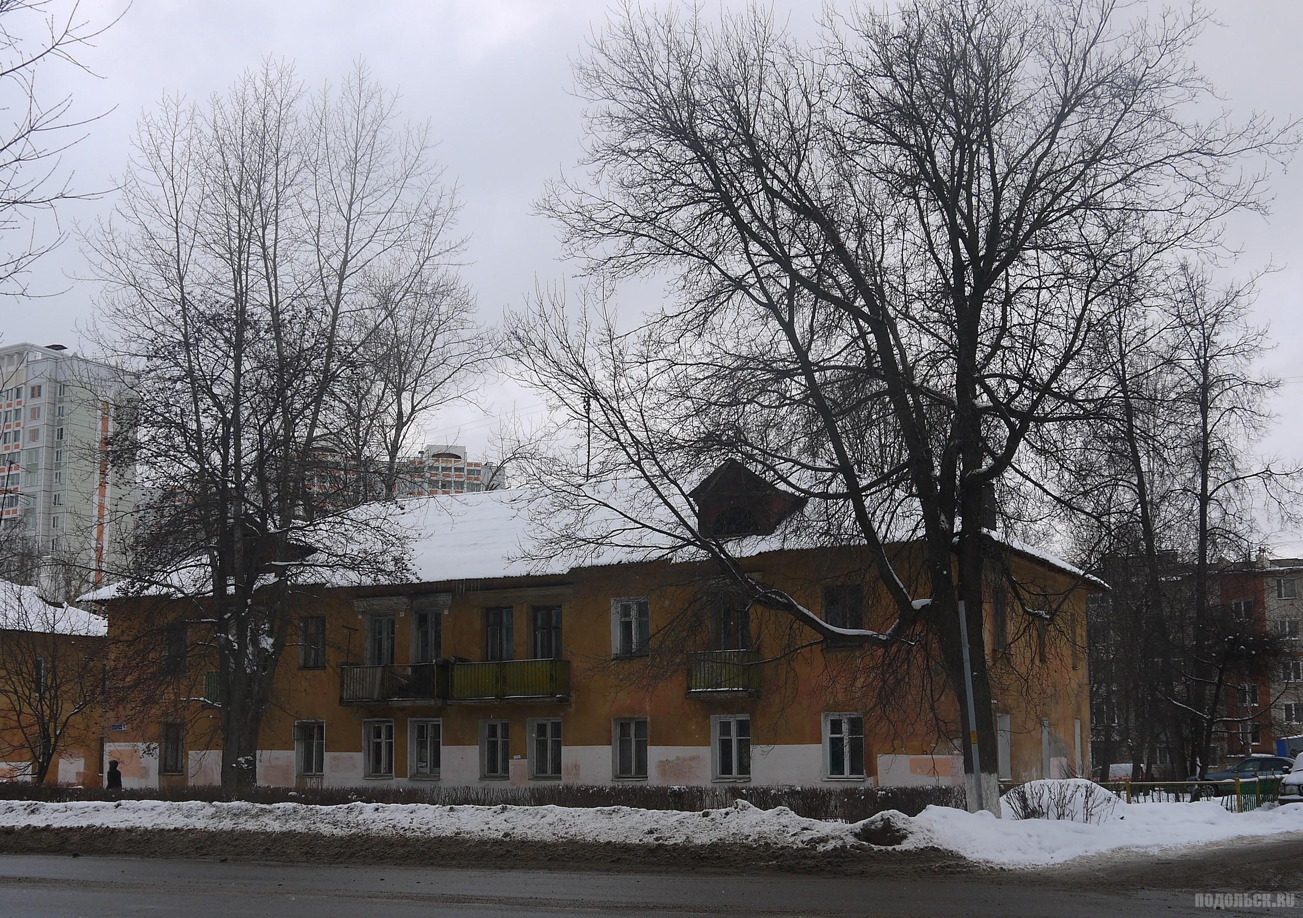 Дом под снос на улице Правды. Февраль 2015 г.