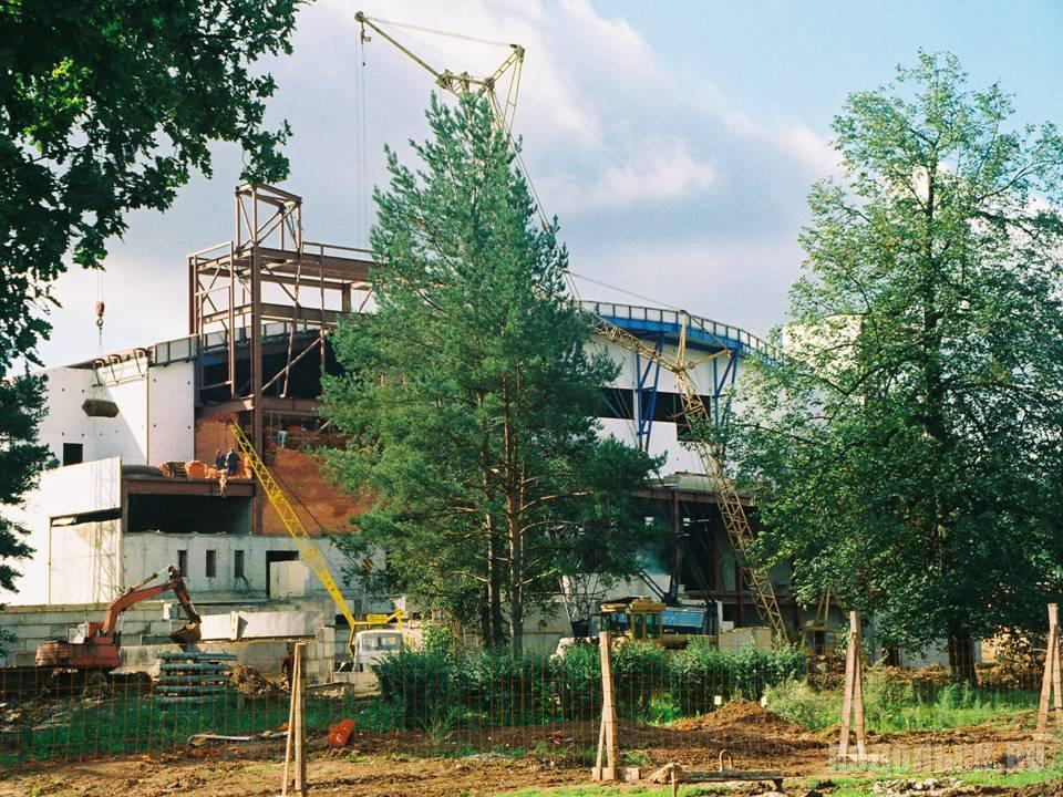 """Стройка """"Витязя"""". 1998-1999 гг."""