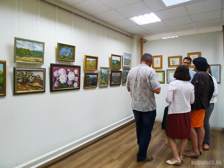 Представлены работы группы художников – педагогов из Москвы и Подмосковья.