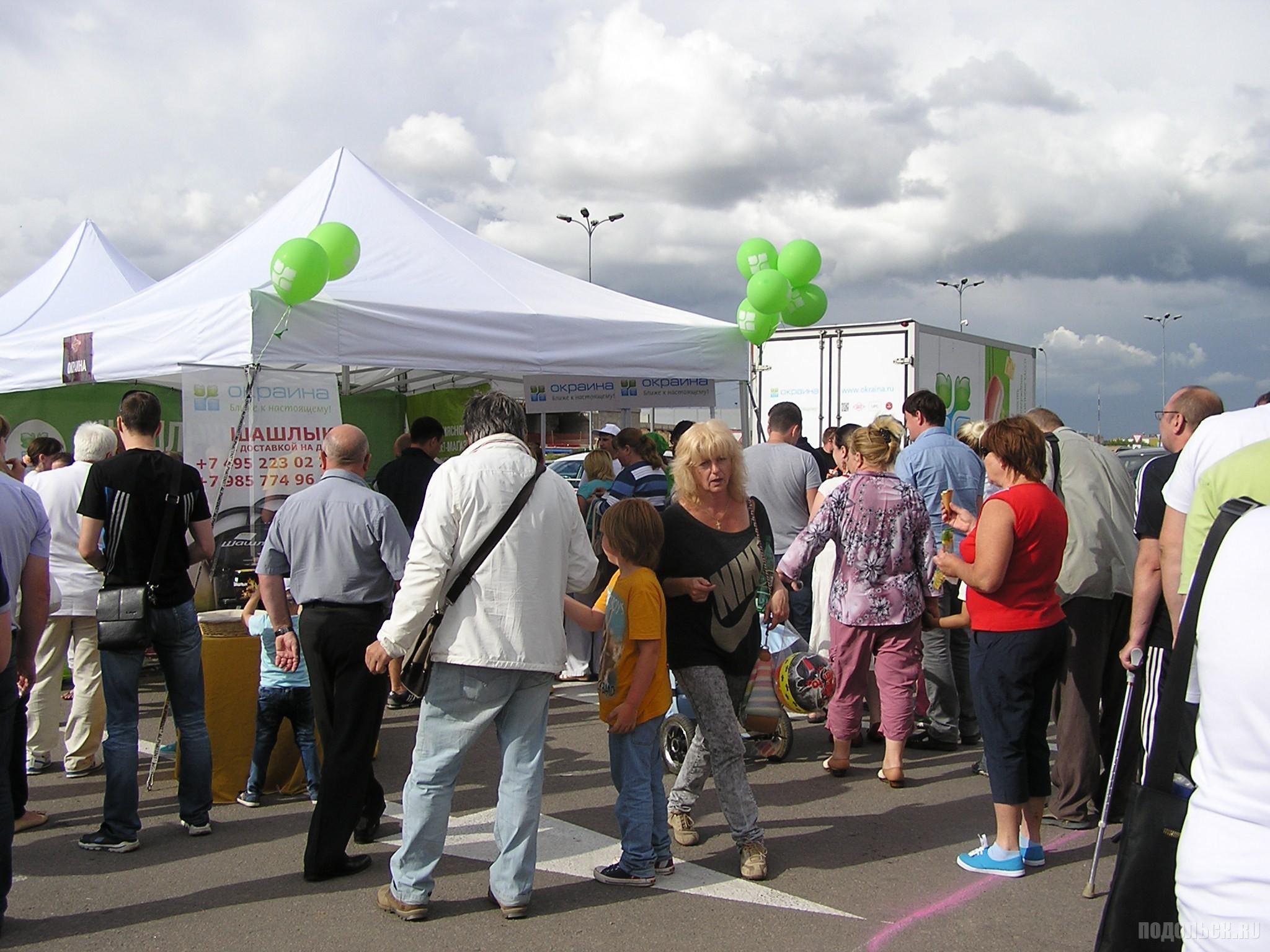Грильмания в Климовске, 11 июля 2015 г. Дегустация шашлыка.