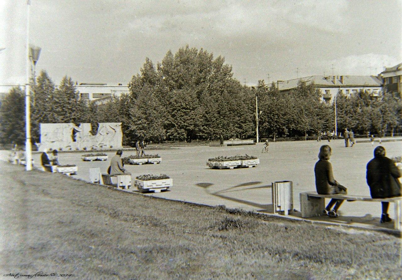 Подольск, площадь 50-летия Октября, 1974 год.