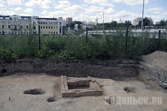 Археологические раскопки у военкомата