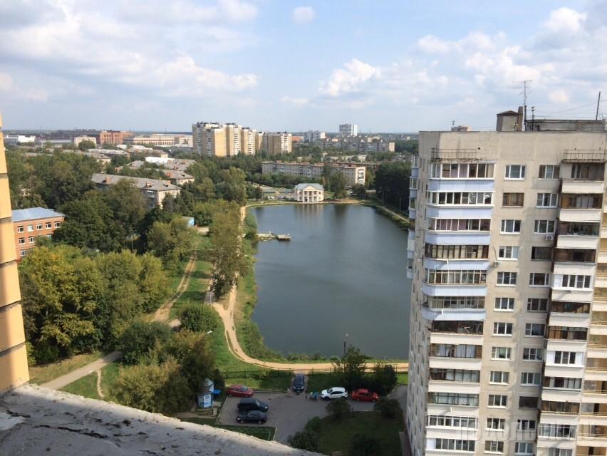 Вид на Кутузово с улицы Давыдова, 5. Август 2015 г.