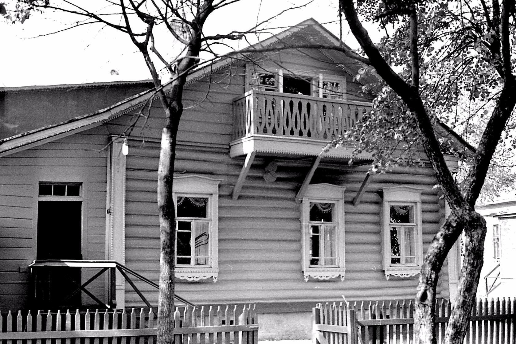 Подольск. Дом-музей В.И. Ленина. Сентябрь 1975 года.