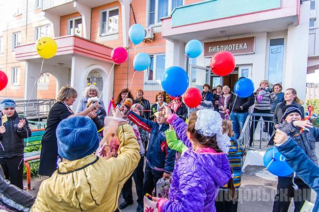 Открытие библиотеки в Кузнечиках 3 октября.