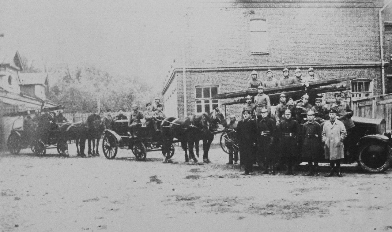 Подольские пожарные, 1920 год