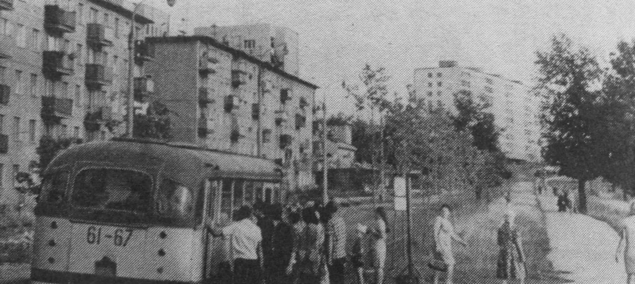 Подольск, ул. Высотная. 1970 год.
