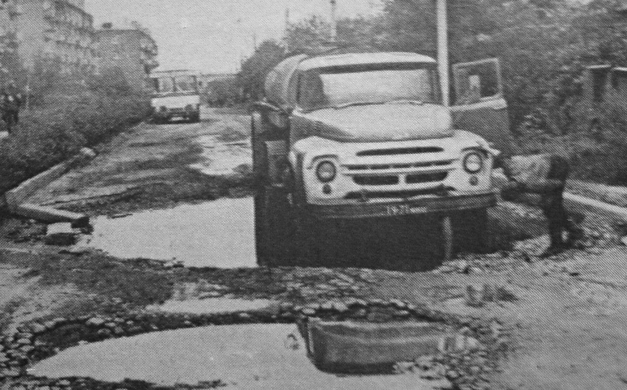 Подольск, ул. Ватутина. 1977 год.