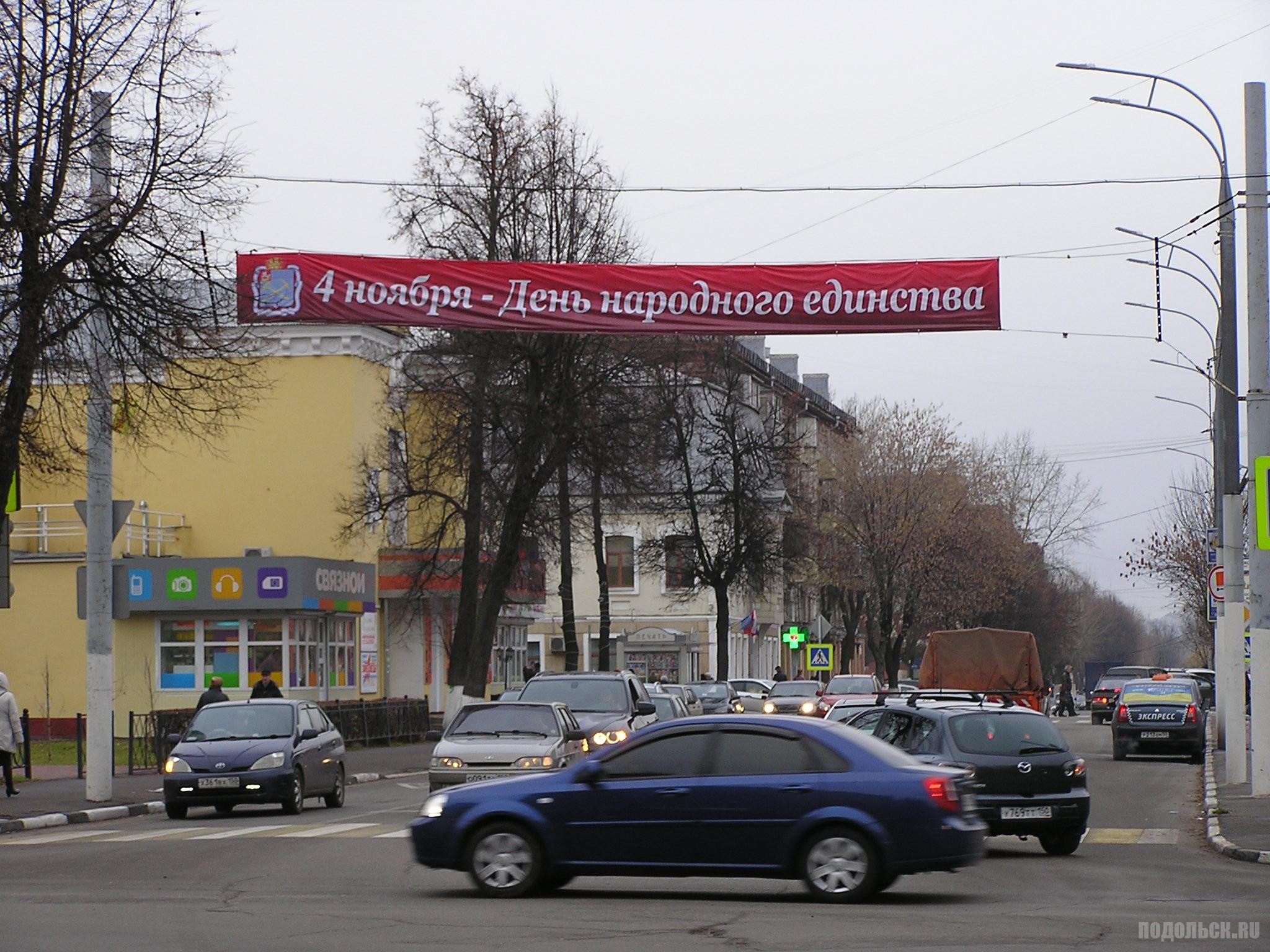Ревпроспект в День народного единства 2015.