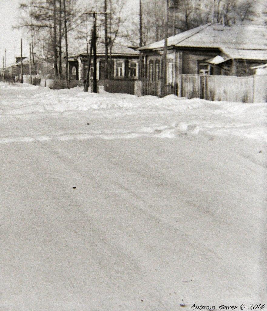 Подольск, улица Комсомольская. Середина 1970-х. годов.