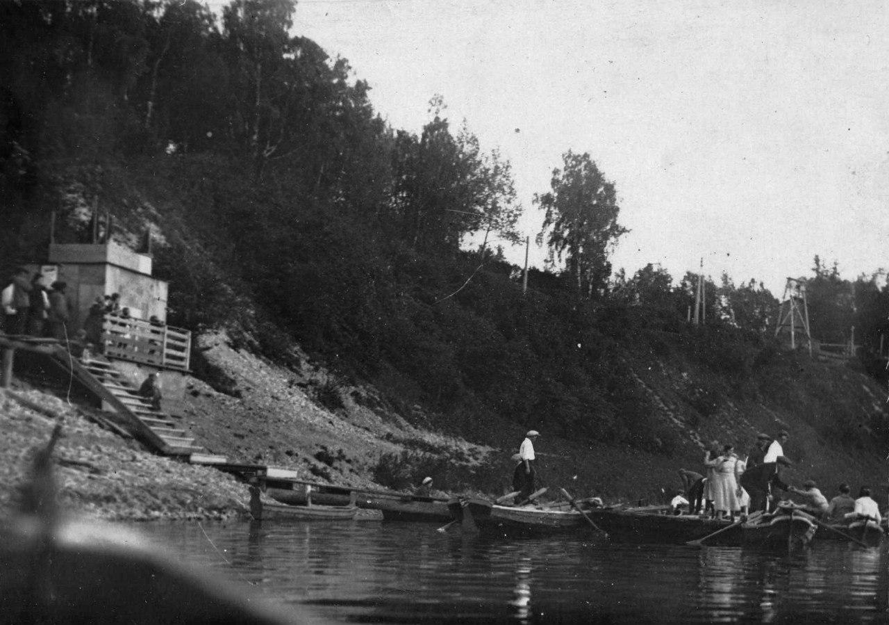 Подольск. Лодочная станция ПКиО клуба имени Лепсе. 1932-1935 г.