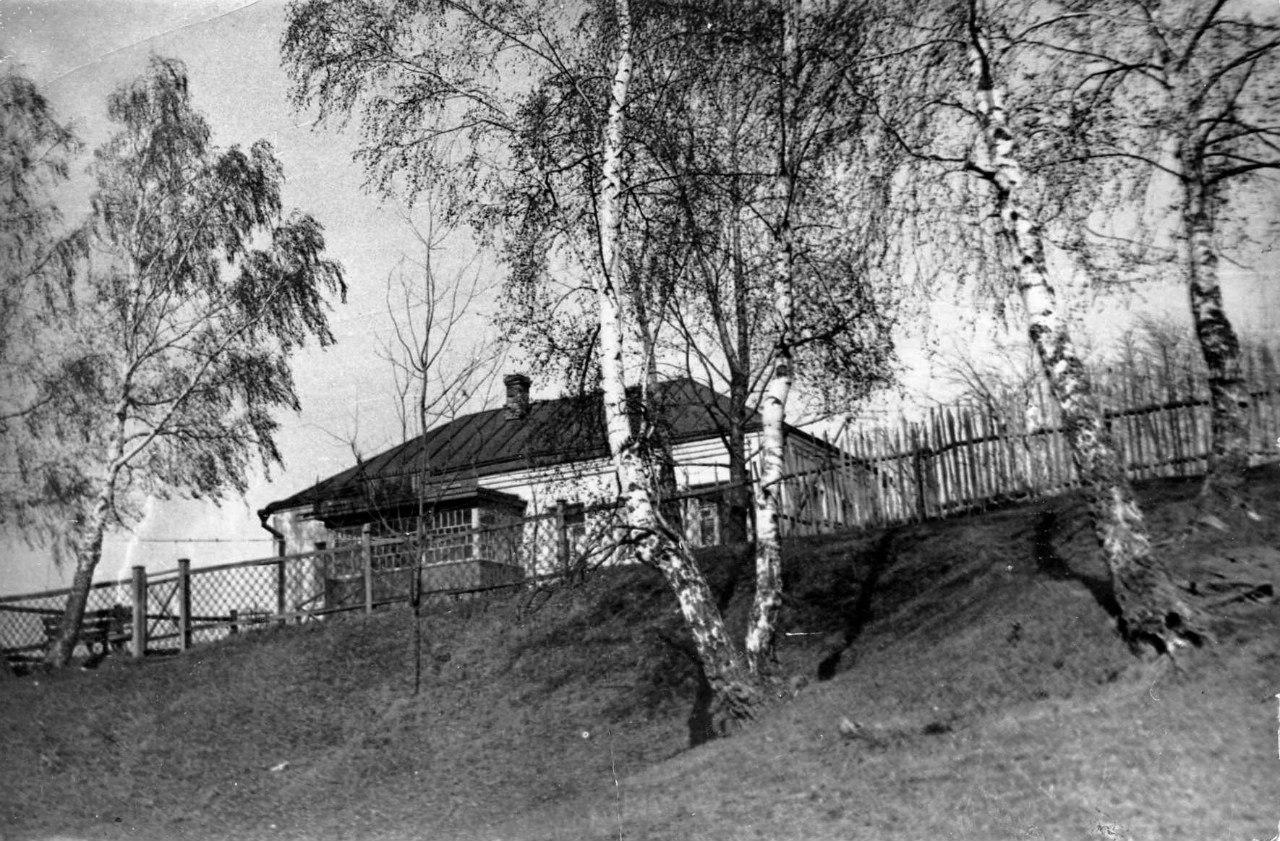 Подольск. Дом где-то в Парковом районе, 1930-е годы.