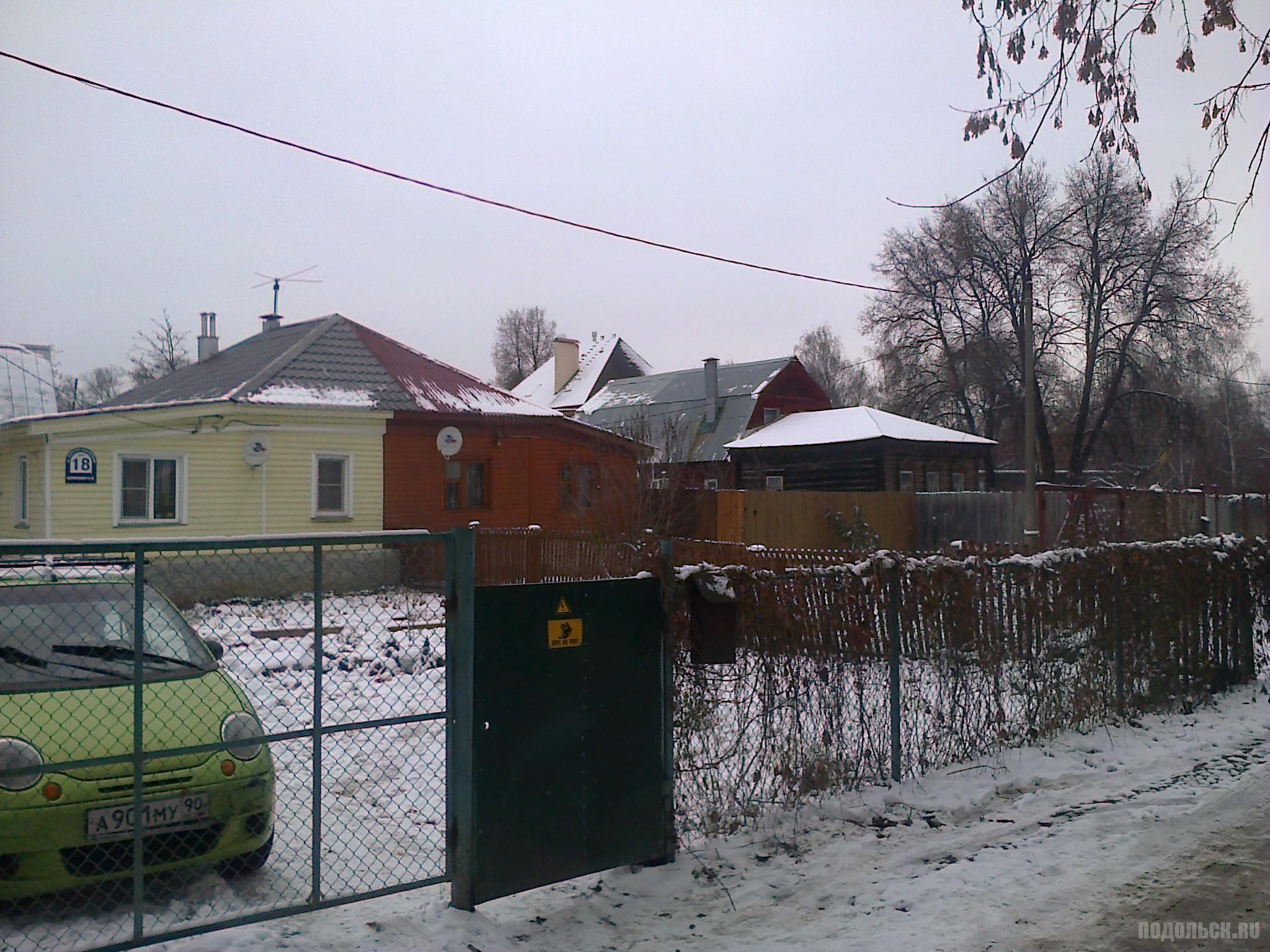 Улица Заречно-Набережная. 17.11.15.