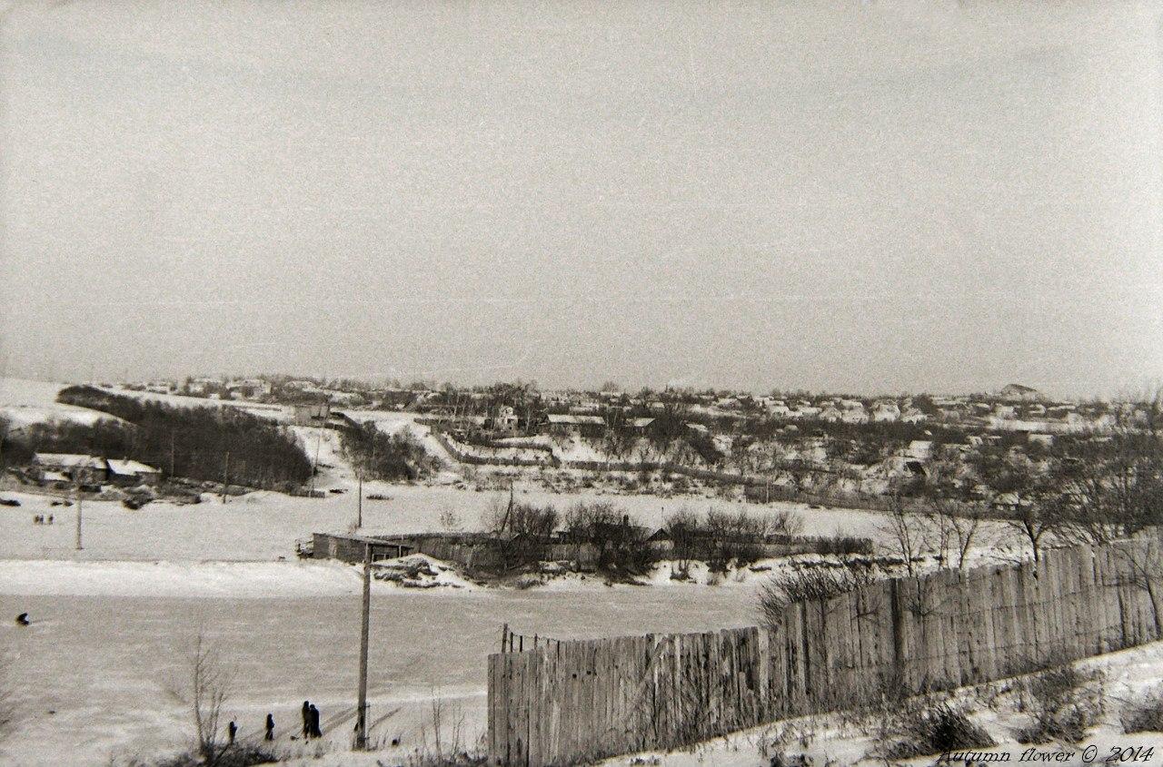 Подольск. Вид на Красную горку. Середина 1970-х годов.