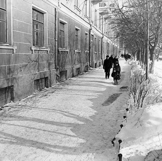 Подольск, Ревпроспект дом 16. 1969 год.
