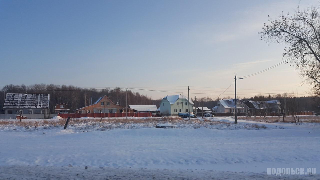 Деревня Кресты, ТиНАО. Январь 2016 г.