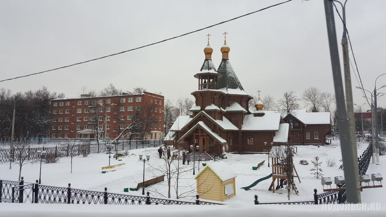 Георгиевский храм в Крещение. 19 января 2016 г.