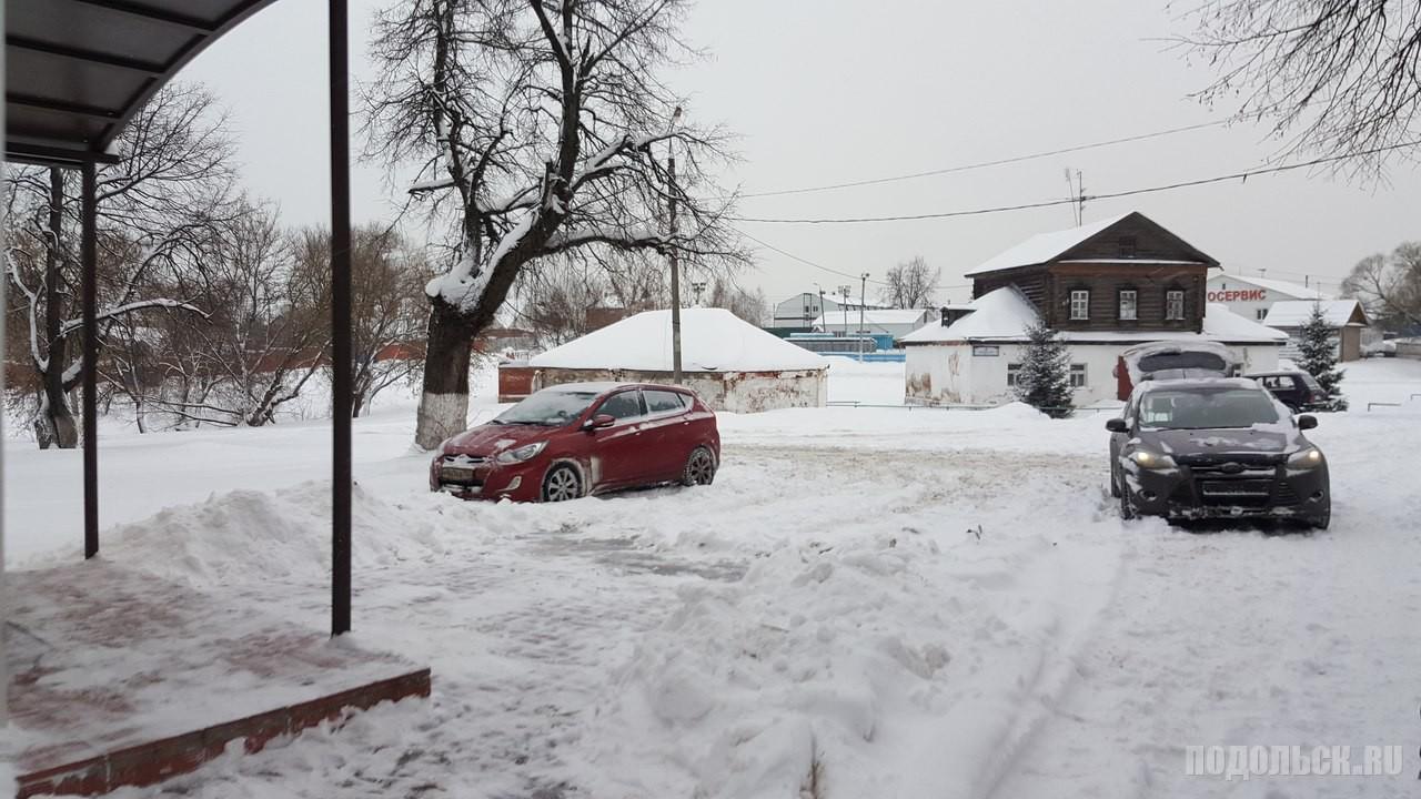 Щапово после снегопада. 19.01.2016.