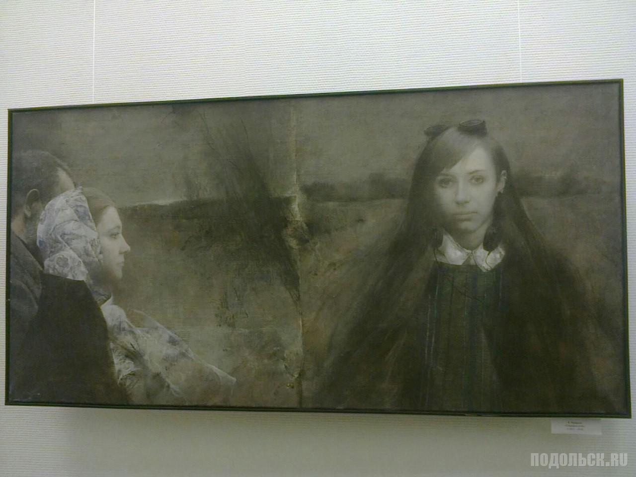 «Один+один+один» – это экспозиция работ авторства Евгения Кравцова, Михаила Кабана- Петрова и Андрея Плиева.