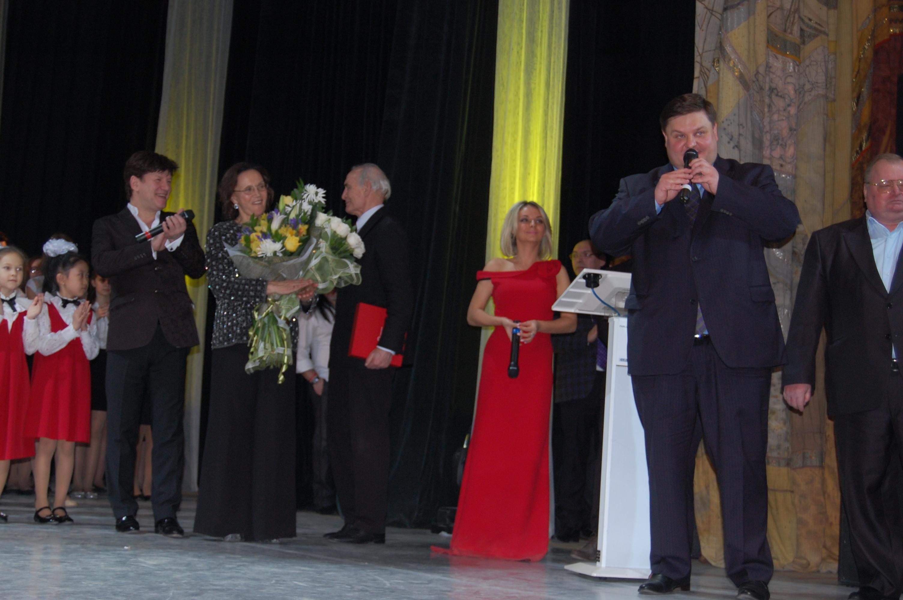Открытие Года российского кино в Подольске. 1 марта 2016 г. Глава Подольска Николай Пестов.
