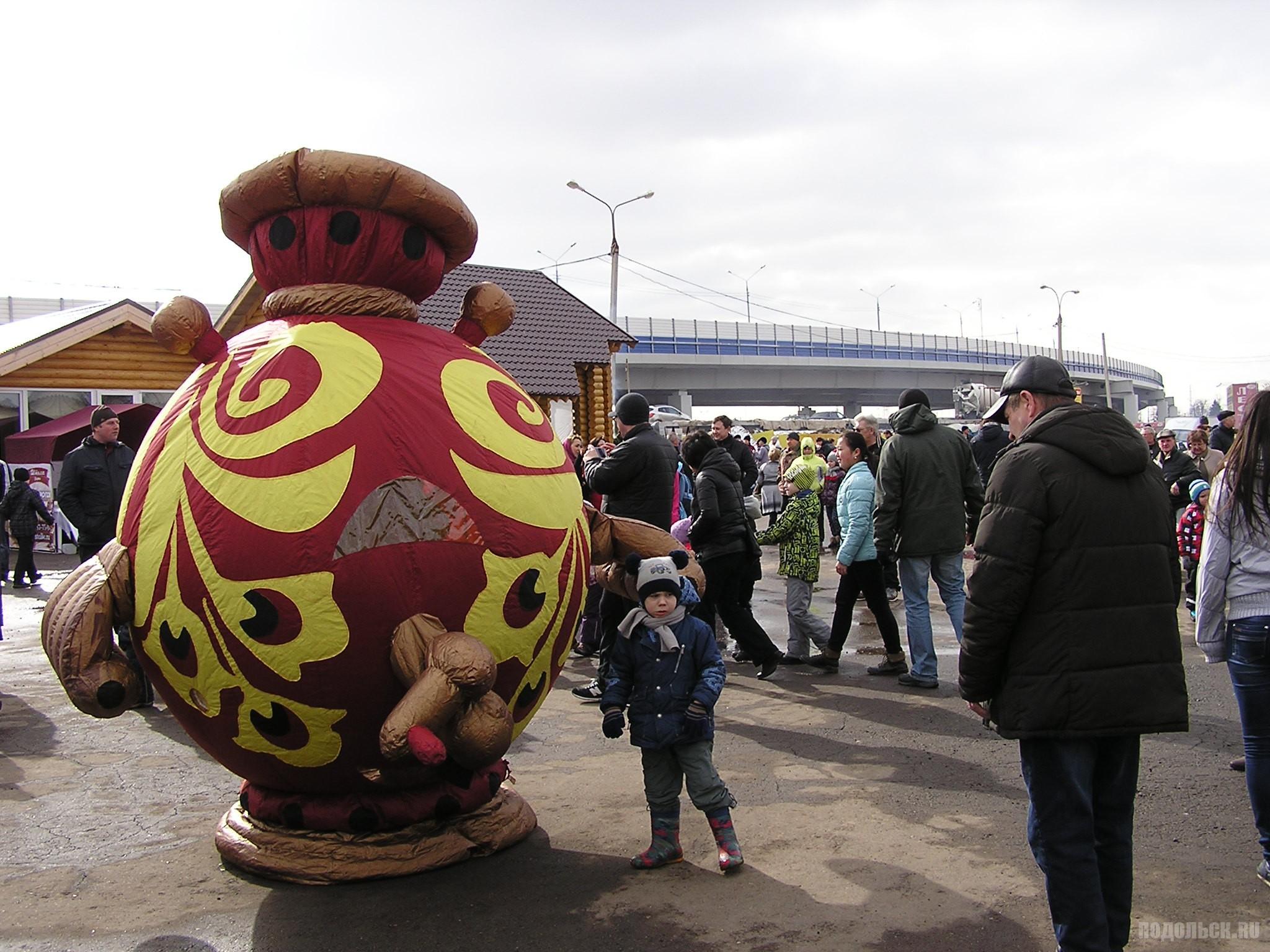 """Широкая Масленица в ТК """"Елисаветинский"""" 13.03.2016."""