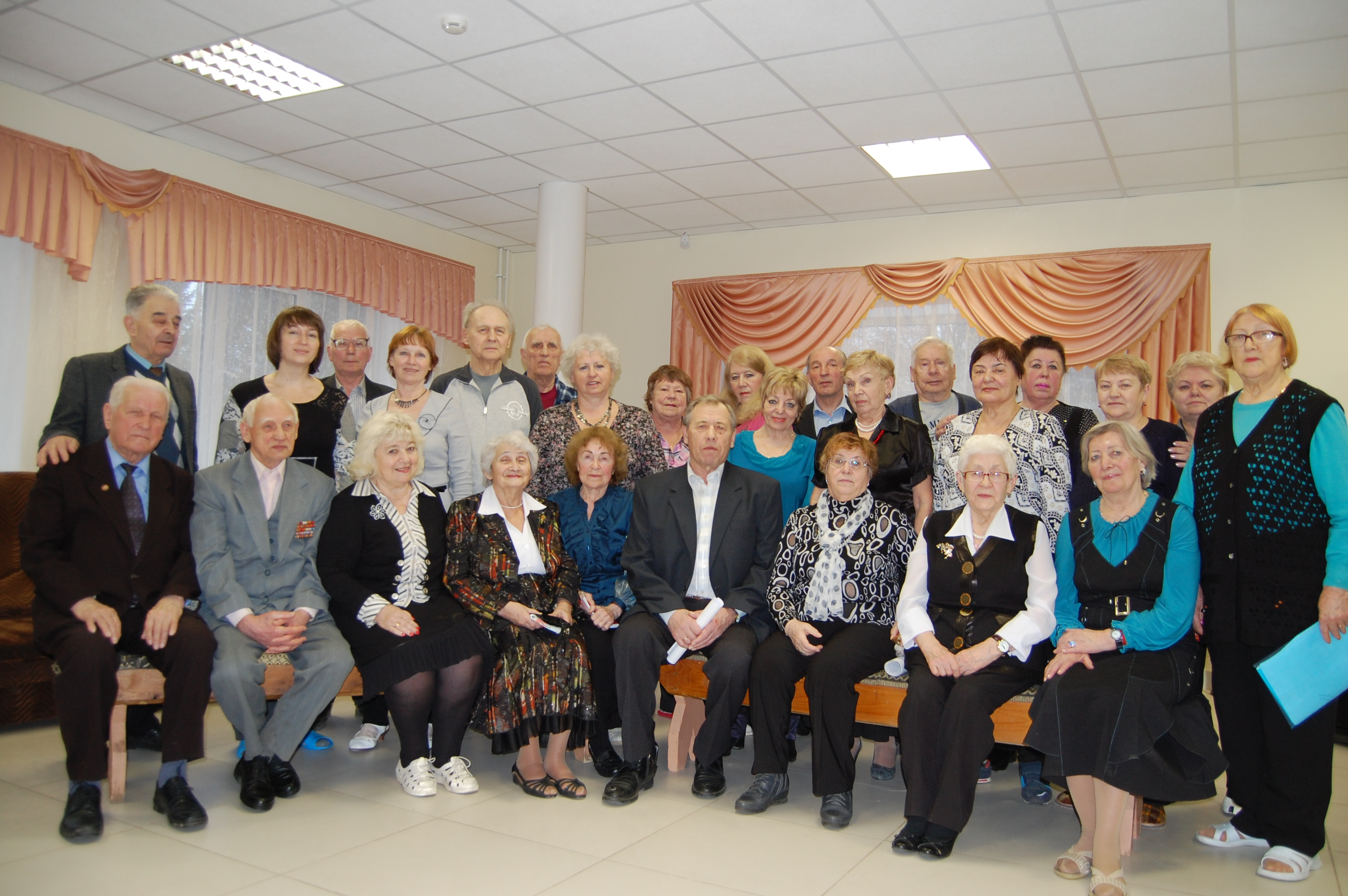 Семинар совета ветеранов в Ясенках. 17-18 марта 2016 г.