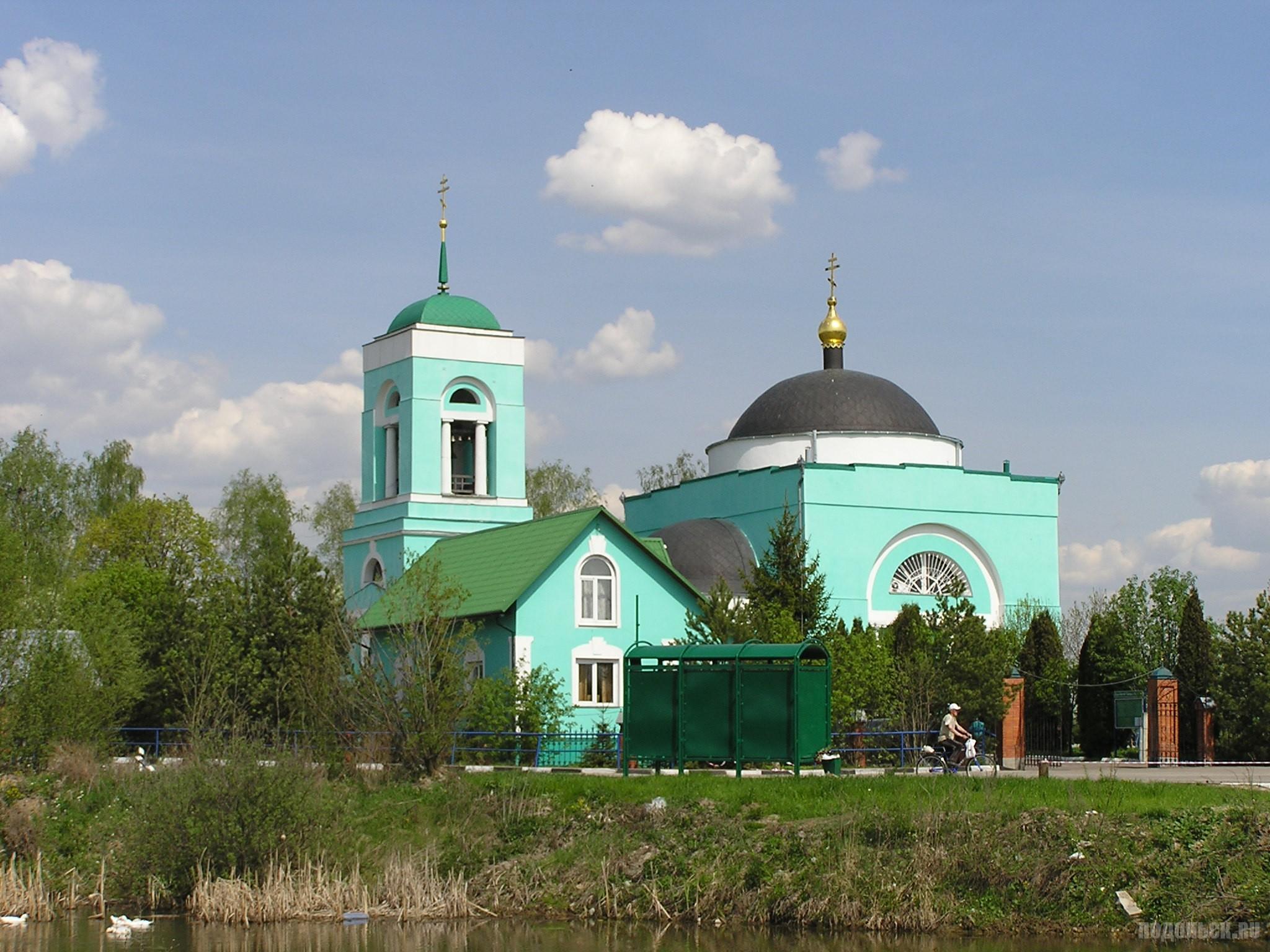 Троицкий храм в Коледине. 8 мая 2016 г.