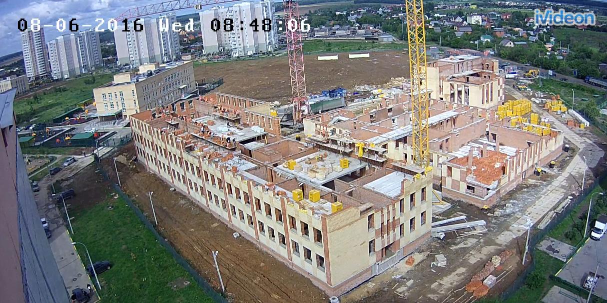 Строительство школы в Кузнечиках. Улица Генерала Стрельбицкого, 11а.