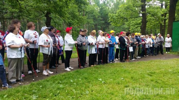 В Парке культуры и отдыха «Дубрава» 10 июня 2016 г. прошел фестиваль скандинавской ходьбы «Нам года не беда!»