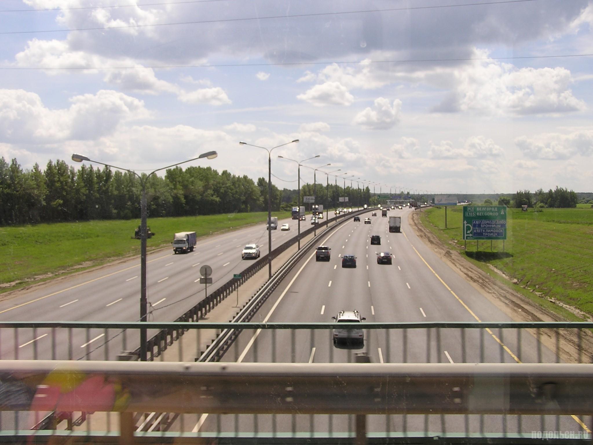 Симферопольское шоссе у деревни Гривно. 24 июня 2016 г.