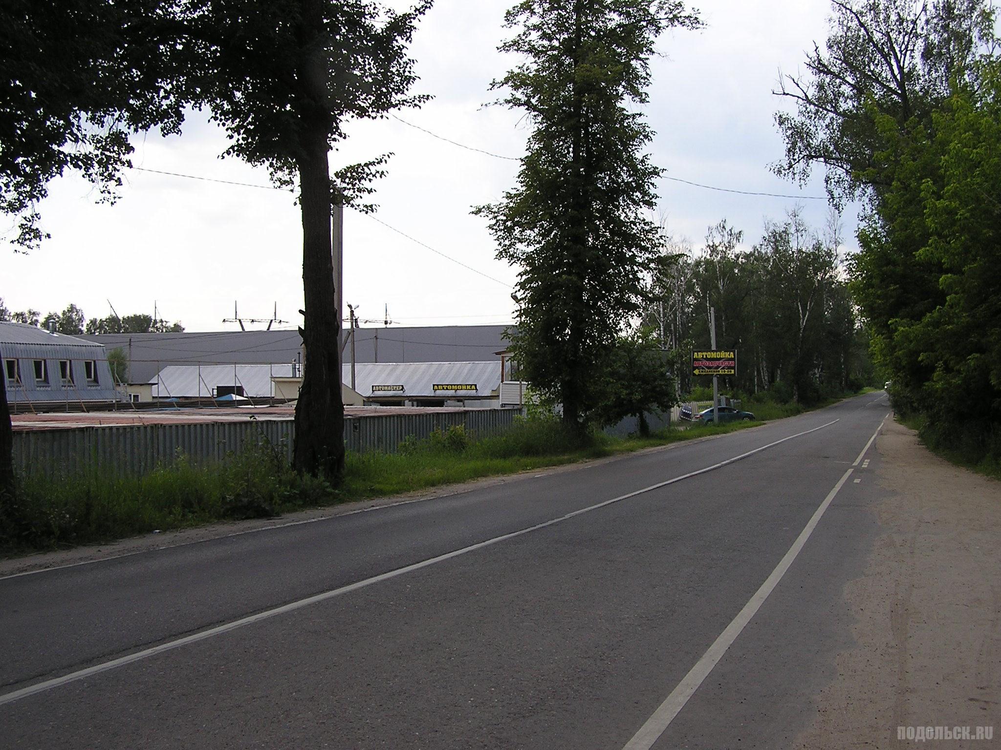 Дорога в деревне Лаговское. 27.06.2016.